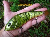 TATER HOG TRIPLE ACTION FIRE PERCH SWIMBAIT